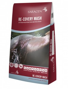 NEW PRODUCT: Re-Covery Mash from Saracen Horse Feeds