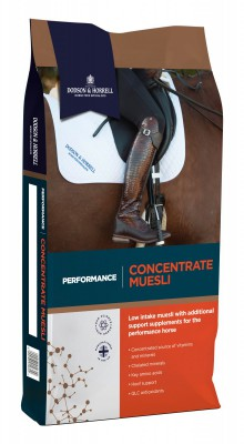 Performance Concentrate Muesli